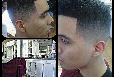 balded fade denton tx barber
