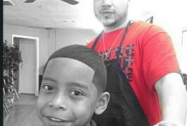 kids hair cut denton