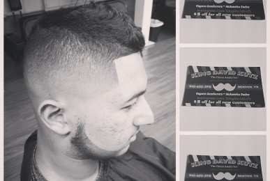 King David Kutz Barber Shop Denton TX Denton Haircut