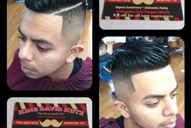 Clean and Simple Undercut by the Denton Barber